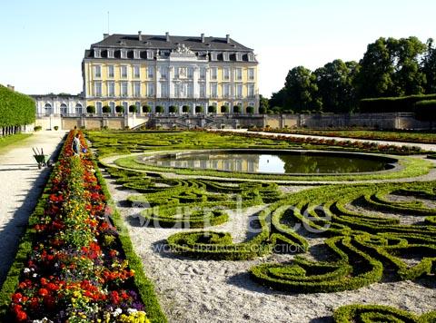 Castles of Augustusburg and Falkenlust at Bruhl