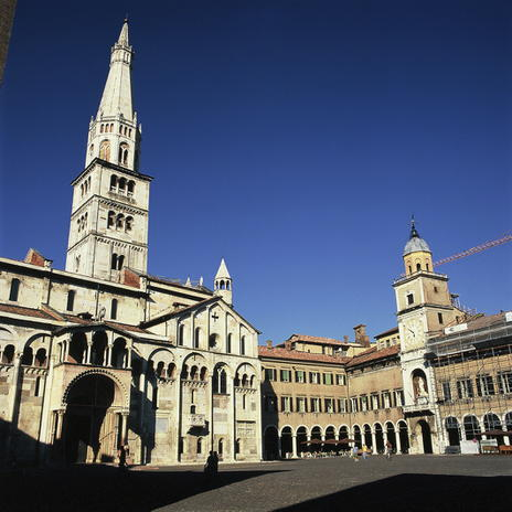 Cathedral, Torre Civica and Piazza Grande