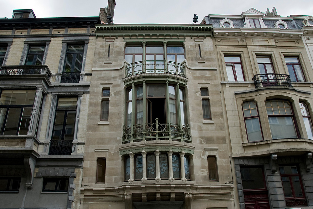 Major Town Houses of  Architect Victor Horta