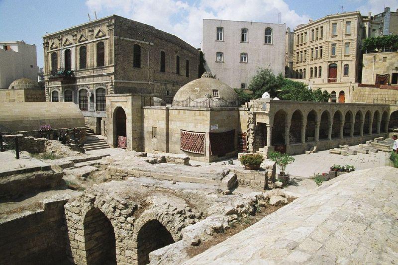 Shirvanshahs Palace and Maide