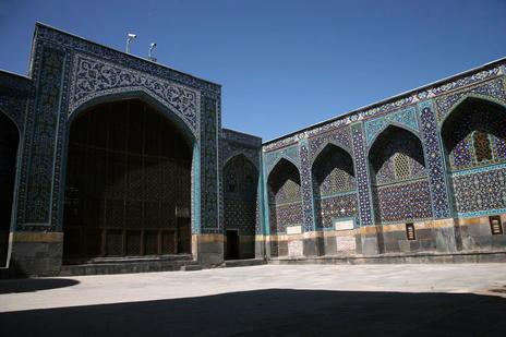 Shrine Ensemble in Ardabil