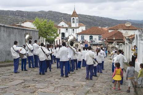 The Town of Diamantina