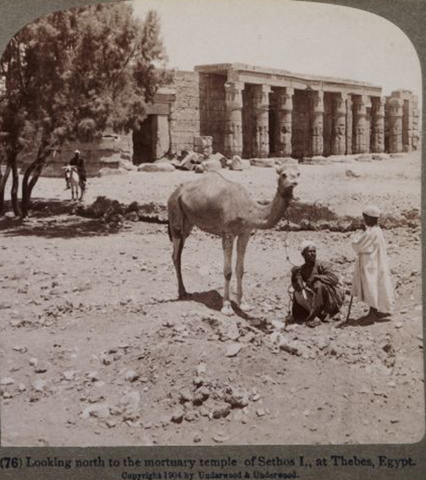 Thebes temple of Sethos I