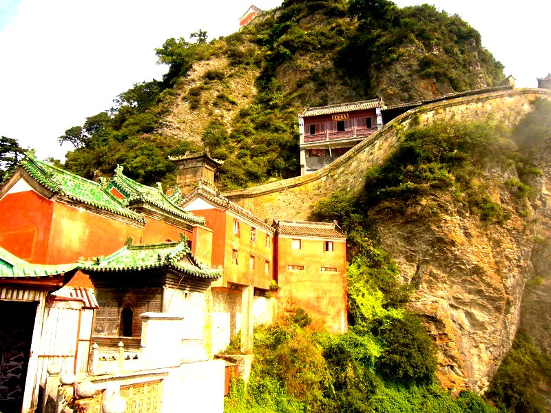 Wudang Mountains ancient building complex