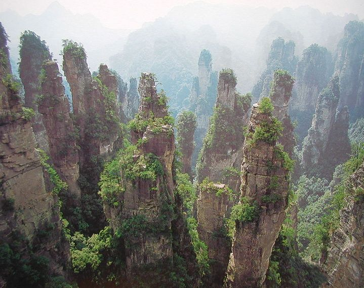 Wulingyuan Scenic and Historic Interest Area