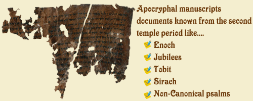 Apocryphal Group of Dead Sea Scrolls