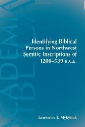 Identifying Biblical Persons