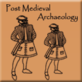 Post Medieval Archaeology