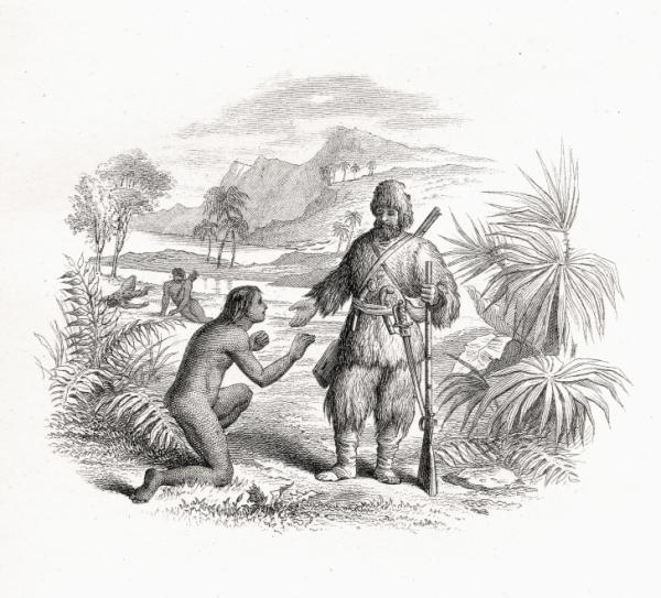 The Real Robinson Crusoe