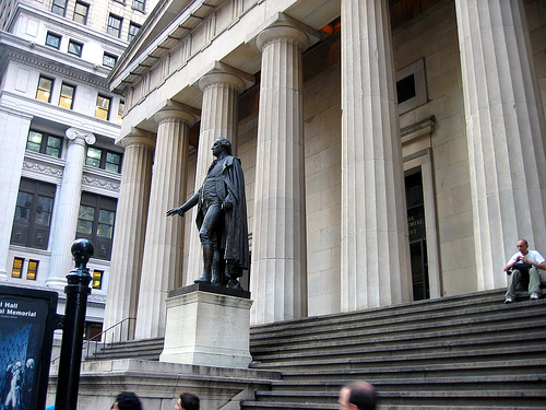 Archaeological Monument Federal Hall National Memorial, 1789