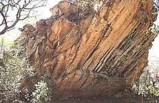 Nauwalabila Heritage site,in Australia. Nauwalabila I has an ...