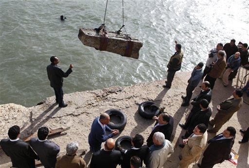Mideast Egypt Sunken Treasures